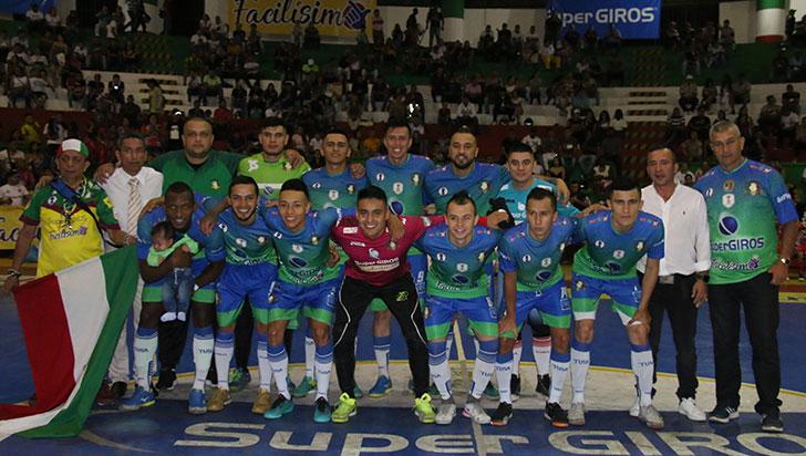 Caciques está a una victoria del bicampeonato de la Copa Futsalón