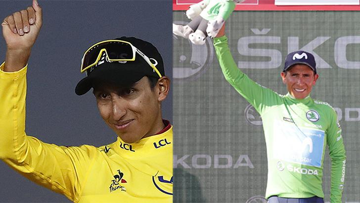 Egan Bernal y Nairo Quintana, líderes de Colombia para Mundial de Yorkshire