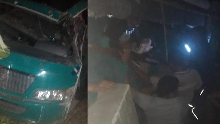 Accidente en el alto de La Línea dejó una persona fallecida y 28 más heridas