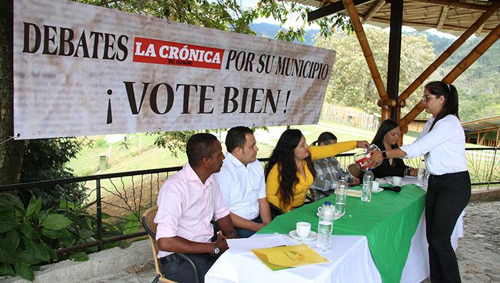 Microtráfico, corredor gastronómico y café, temas del debate en Córdoba