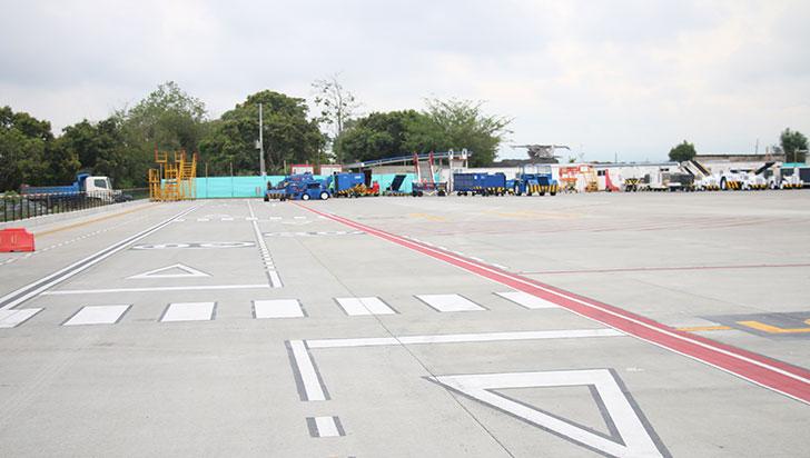 Aerocivil inauguró la plataforma de parqueo del aeropuerto El Edén