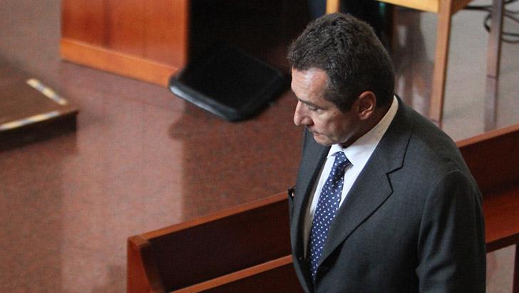 Revocada sanción contra Bernardo Moreno Villegas