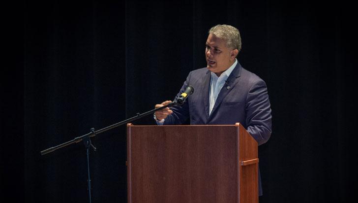 Duque viajó a Nueva York para hablar sobre compromiso colombiano con defensa de medioambiente