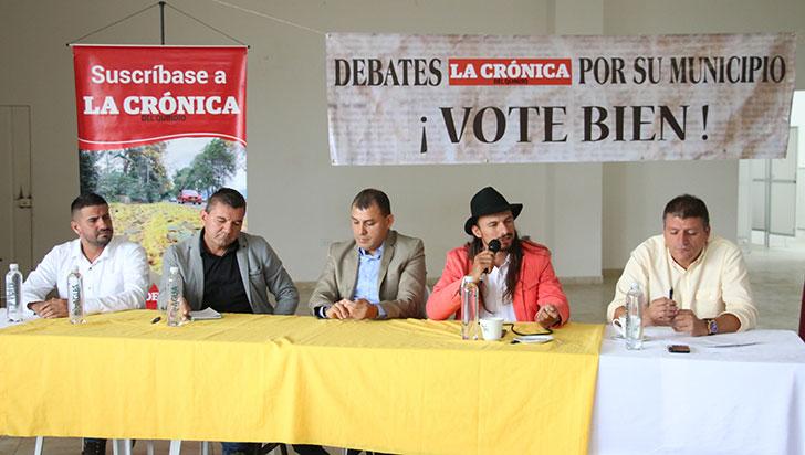 Teleférico, turismo y asociatividad, temas en Buenavista con candidatos a la alcaldía