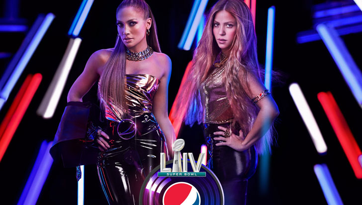 Shakira y Jennifer López actuarán durante el Super Bowl