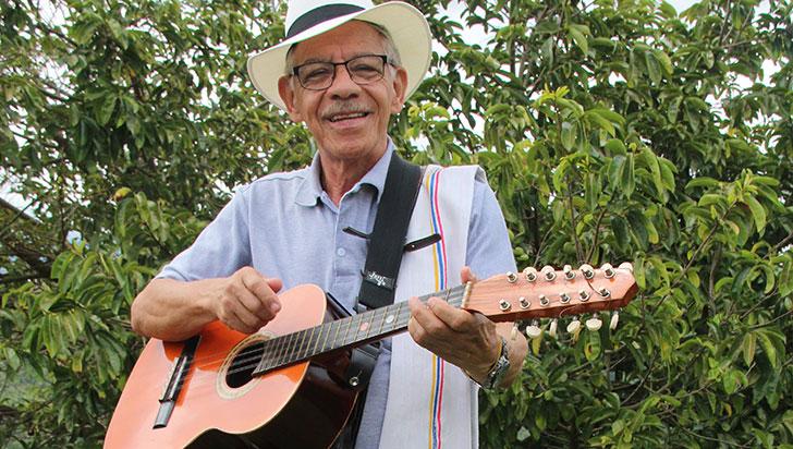 Lorenzo Gañán logró su sueño de crear el Festival Nacional de la Trova