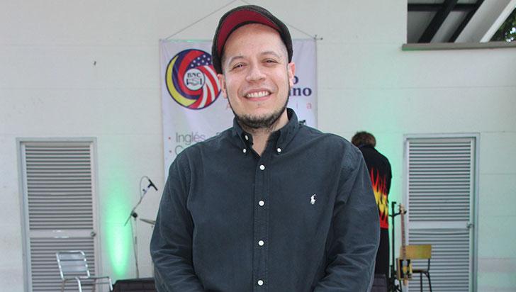 Michael Cadena es el creador del Festival de Blues & Folk