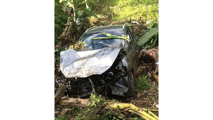 Tras accidente, esposas de Luciano Grisales y Carlos Mario Álvarez,  sin heridas graves