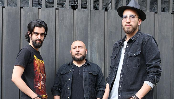 La banda chilena Catoni, este viernes, en el NatuRock Fest de Génova