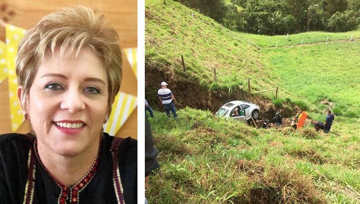 Murió en accidente Esneda González,  jubilada del Comité de Cafeteros del Quindío