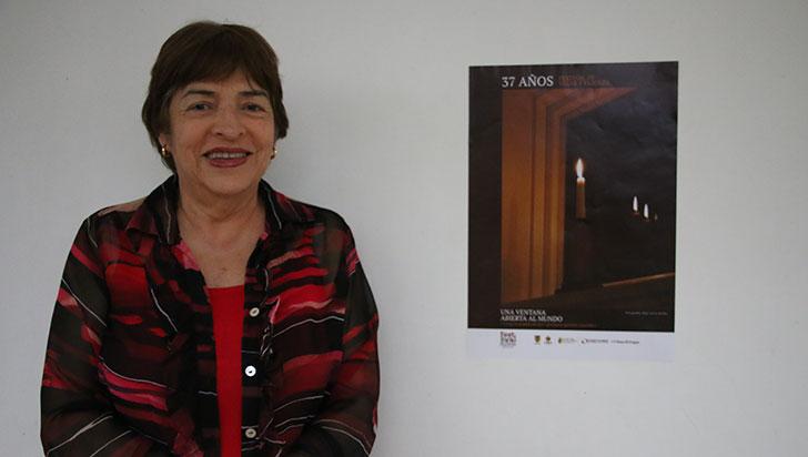 Olga Lucía Jordán diseñó la imagen del Festival de velas y faroles