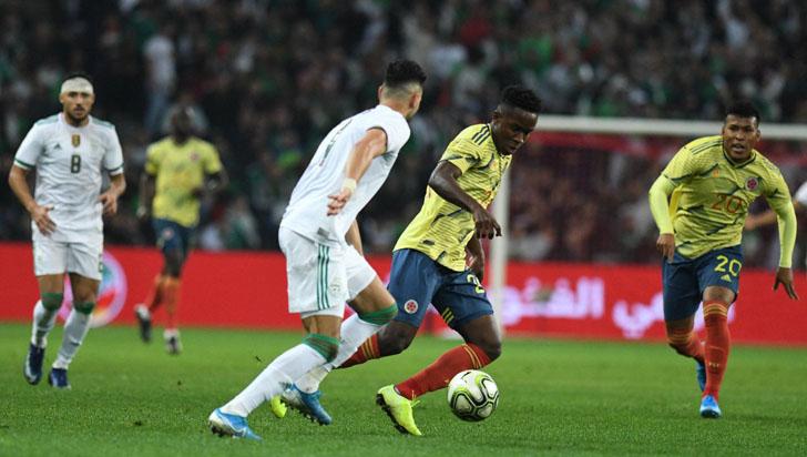 Colombia cayó 3-0 ante Argelia, la campeona de África