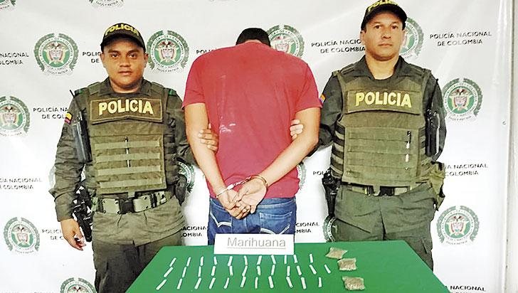 """""""Candidato al concejo de Córdoba, capturado porte de drogas"""": Policía"""