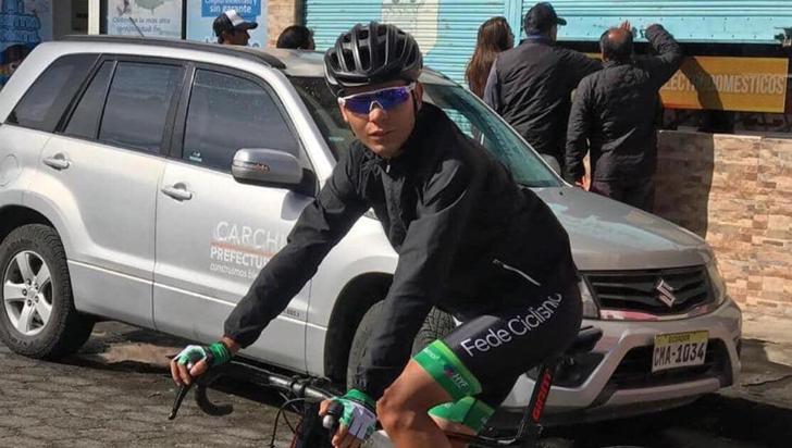 Muere en accidente de tránsito joven promesa del ciclismo colombiano