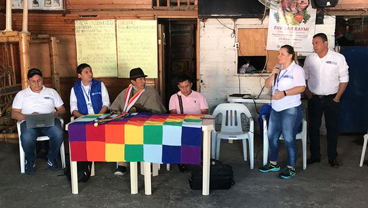 Reparación colectiva a indígenas Yanacona llegó al departamento