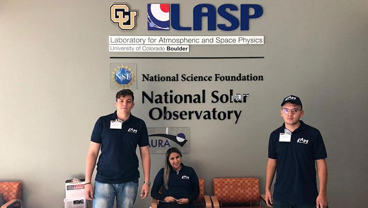 Estudiante y egresados de la EAM presentan en la Nasa un concepto de exploración planetaria