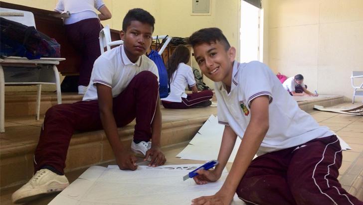 Estudiantes de Quimbaya expondrán sus faroles este viernes - La Cronica del Quindio