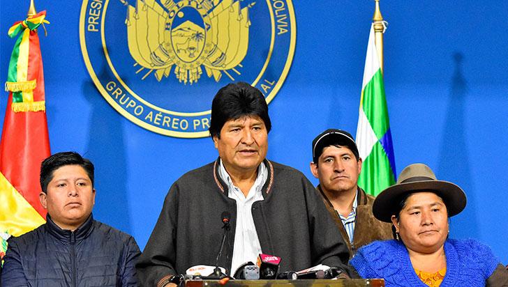 Evo Morales anunció nuevas elecciones en Bolivia tras el informe de la OEA