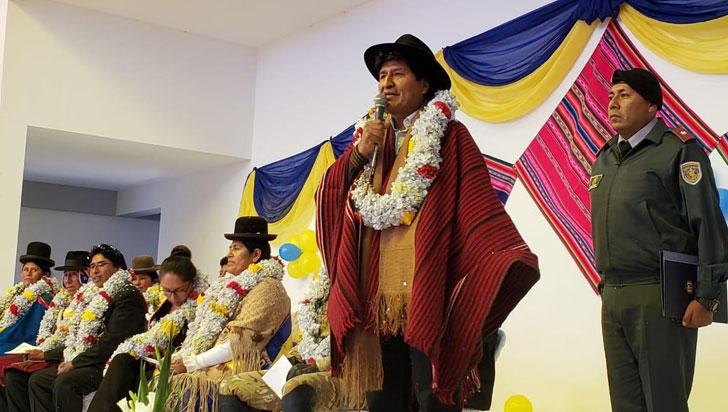 Piden a la CIDH que proteja a Evo Morales ante temor de que sea agredido
