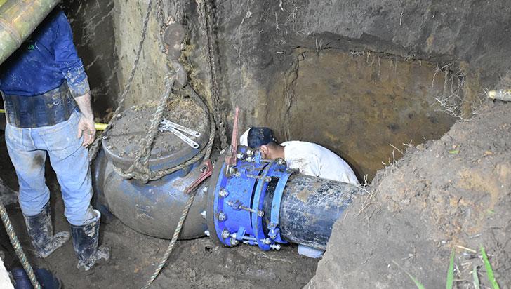En 15 días se entregaría el acueducto por gravedad en Montenegro