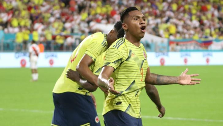 Colombia se reencuentra con la victoria marcando 1-0 contra Perú