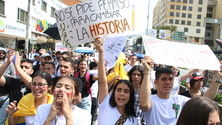 Quindío fue ejemplo; multitudinaria marcha pacífica