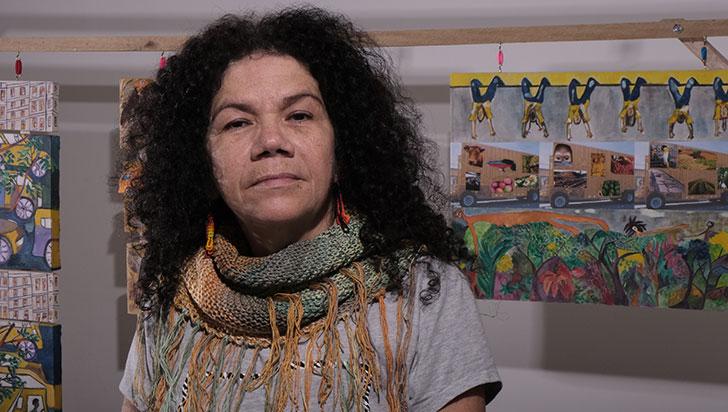 Habitantes de la calle, expresión artística de María Teresa Cruz