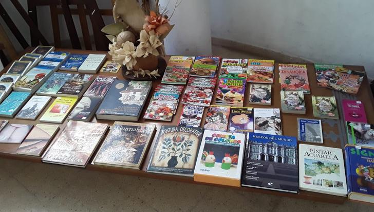 Feria del libro en Circasia, hasta el viernes