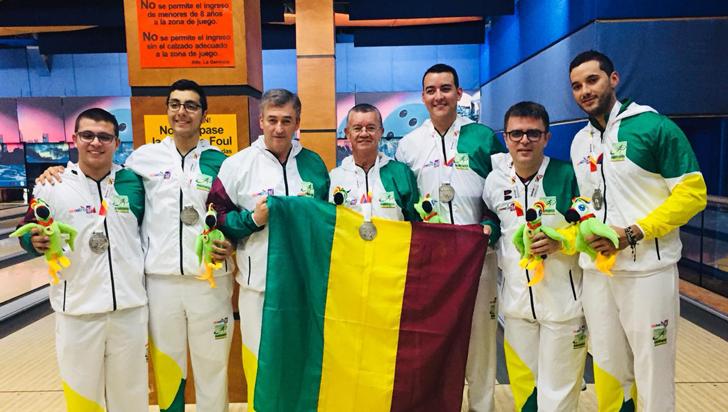 ¡Bolo masculino ganó medalla de plata en Juegos Deportivos Nacionales!