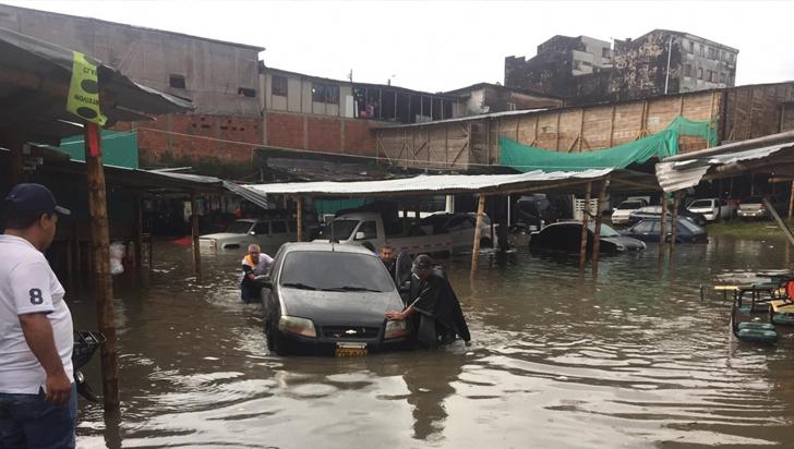Servicio eléctrico, afectado en varios municipios del Quindío por vendaval