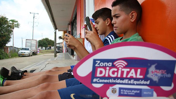 En La India se instaló la segunda zona Wifi del Quindío