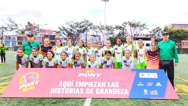 Quindianas FC buscará tercera fase del Ponyfútbol nacional