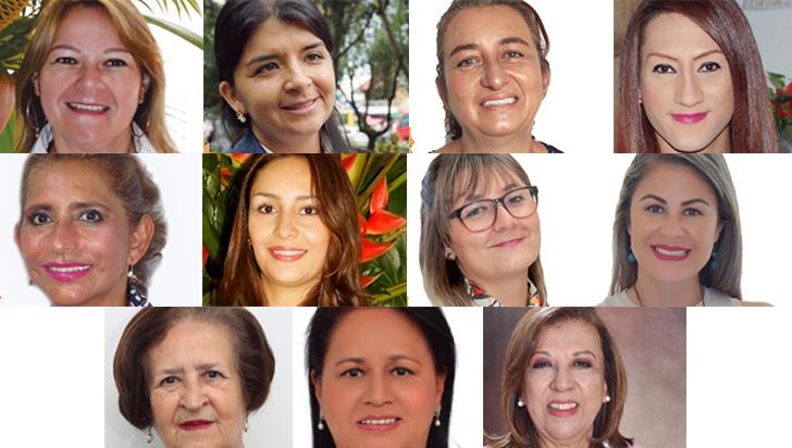 11 quindianas se disputan el título de Mujer Comfenalco