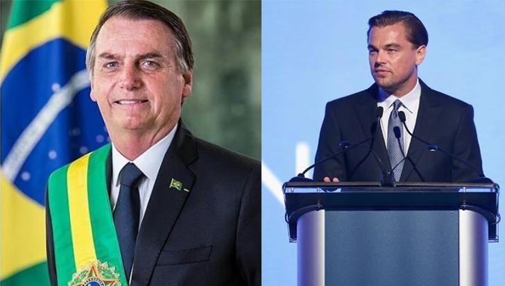 Bolsonaro acusa a DiCaprio de financiar organismos que incendian la Amazonía