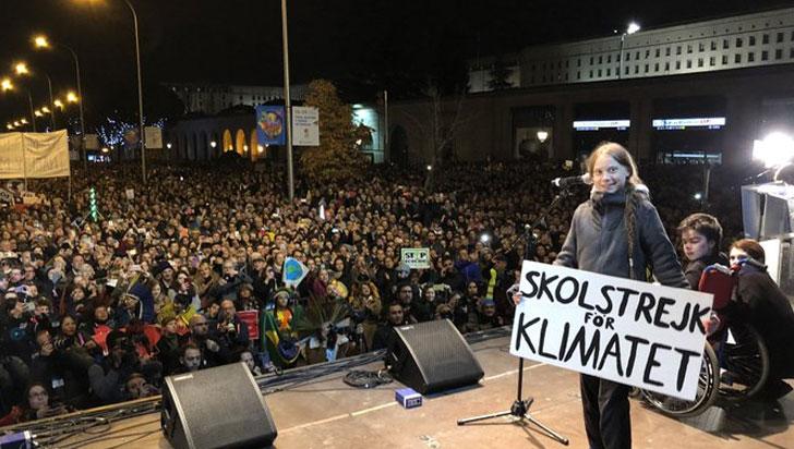 Greta Thunberg: el mundo está despertando lentamente ante la crisis climática