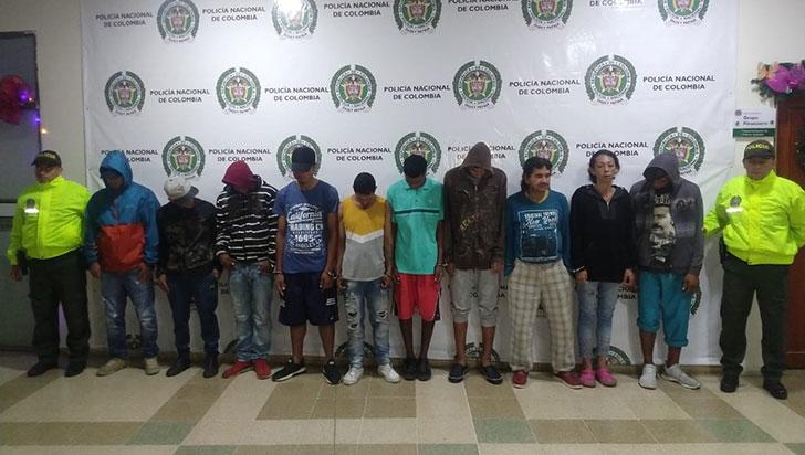 Presuntos integrantes de la banda 'Las Arañas', enviados a prisión