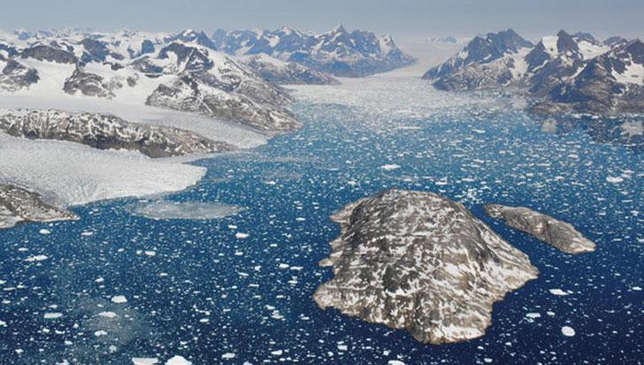 El deshielo en Groenlandia es siete veces más rápido que hace treinta años