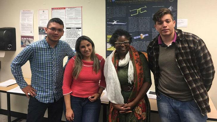 Quindianos buscan apoyo para viajar  a exponer investigación sobre Venus