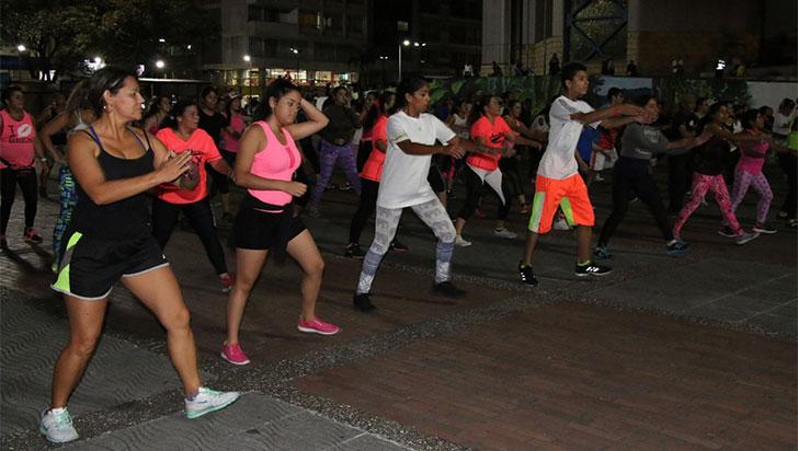 Este jueves evento masivo de actividad física para la salud de la comunidad