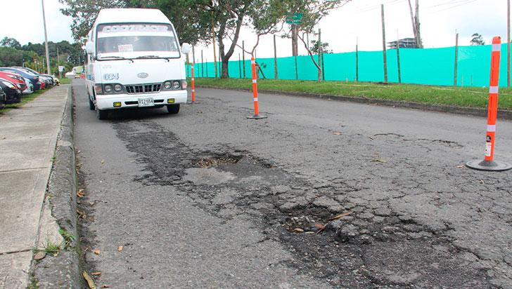 Por arreglos de la calle 26N,  nueva ruta para buses intermunicipales