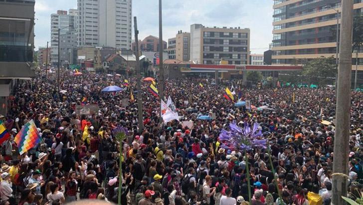 Empresariado español cree que protestas no afectarán confianza en Colombia