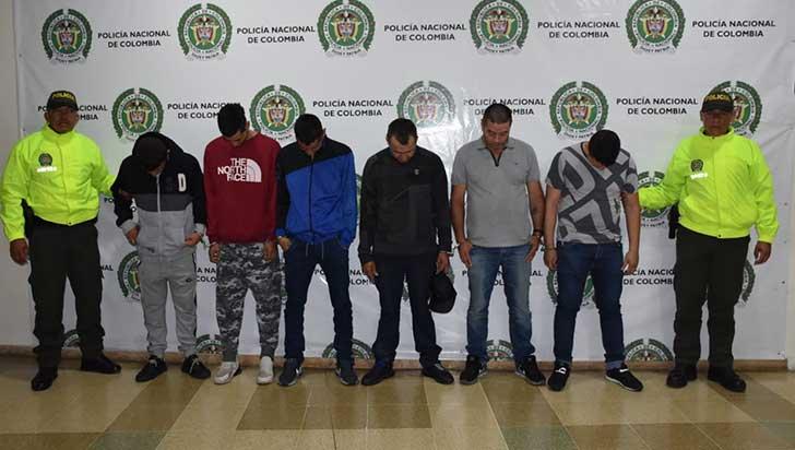 Seis personas fueron capturadas en Calarcá