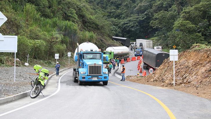 Invías derogó resolución de cierre a un carril en La Línea