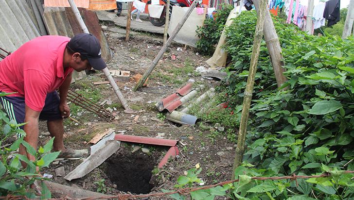 En zona rural de Cicasia, malos olores tienen azotado a El Triunfo
