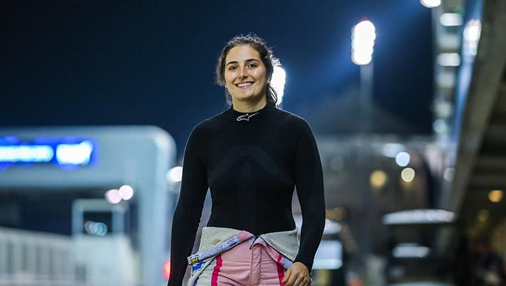Colombiana es la primera mujer en participar en la Súper Fórmula de Japón