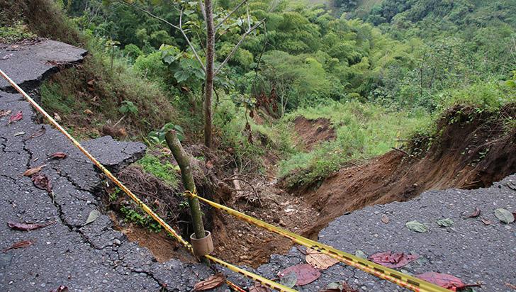 Visitas técnicas para intervenir vía Río Verde – Barragán, sector Tarapacá