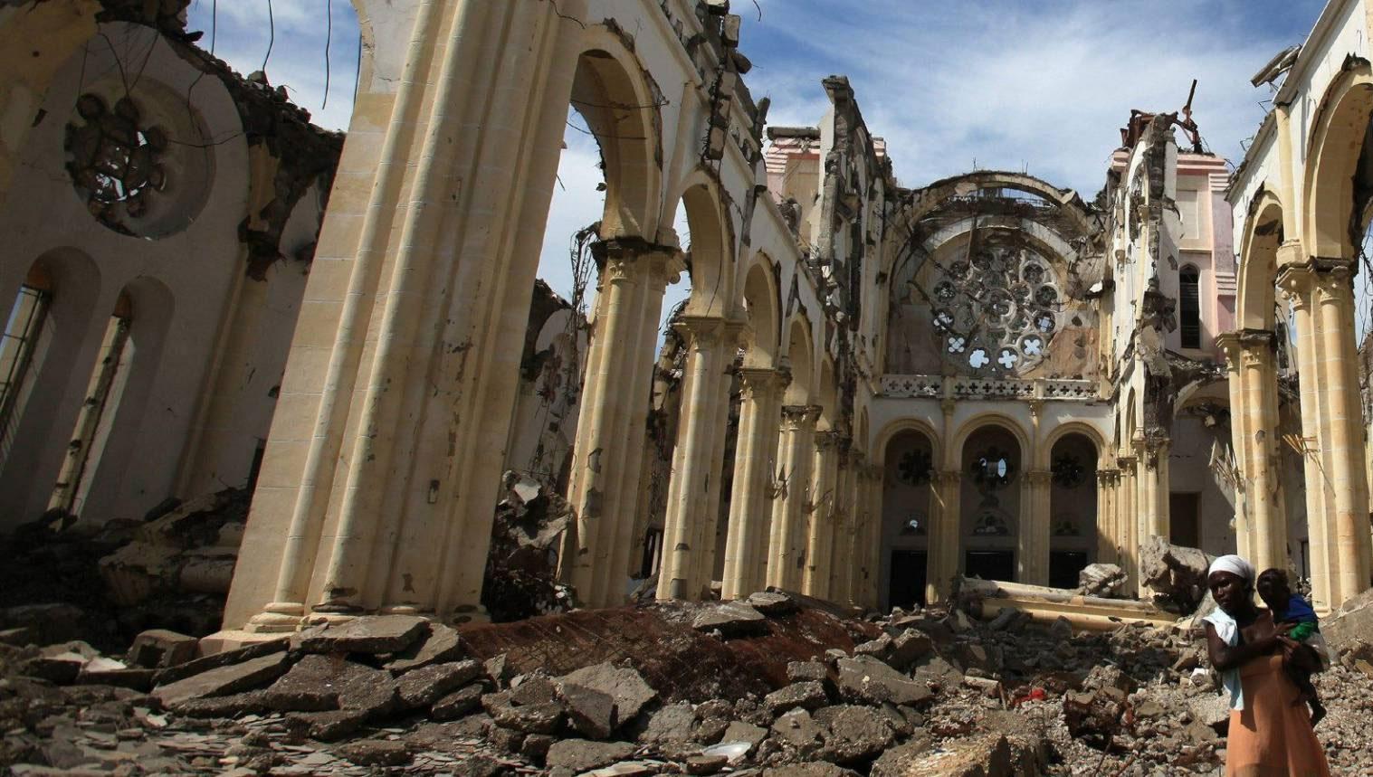 Haití conmemoró 10 años del terremoto que causó la devastación del país