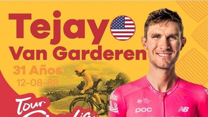 El estadounidense Tejay Van Garderen participará en el Tour Colombia