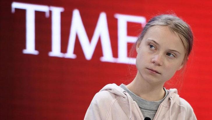 Thunberg acusó a los líderes de haberse rendido ante el calentamiento global