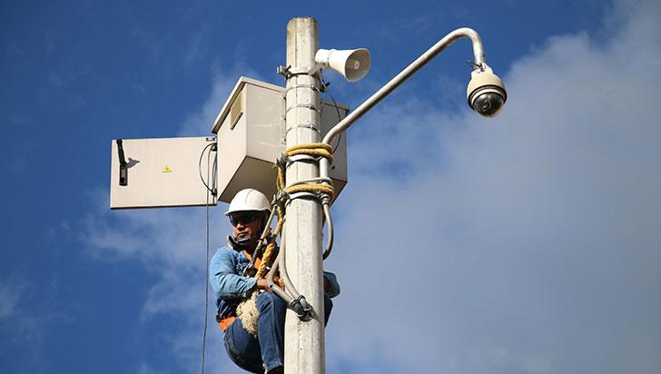 Municipios tendrán cámaras de seguridad por 25 años